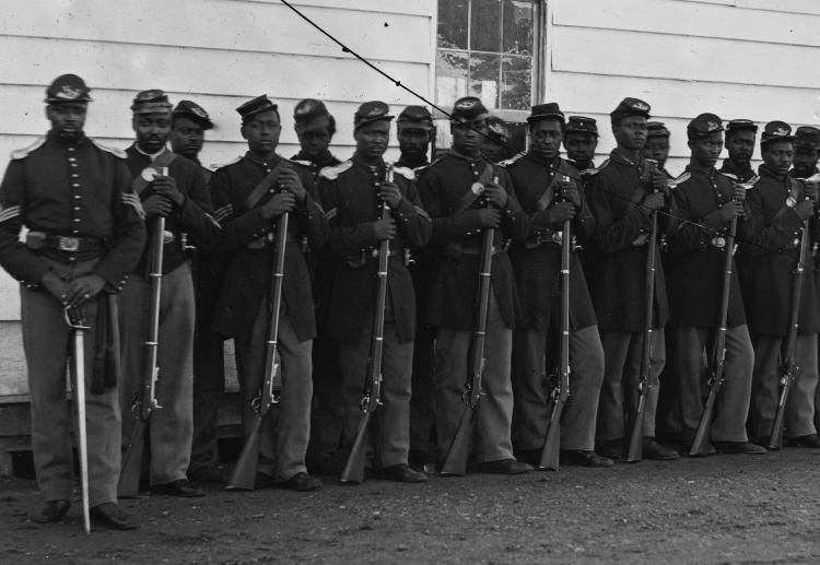 Company E, 4th U.S. Colored Infantry