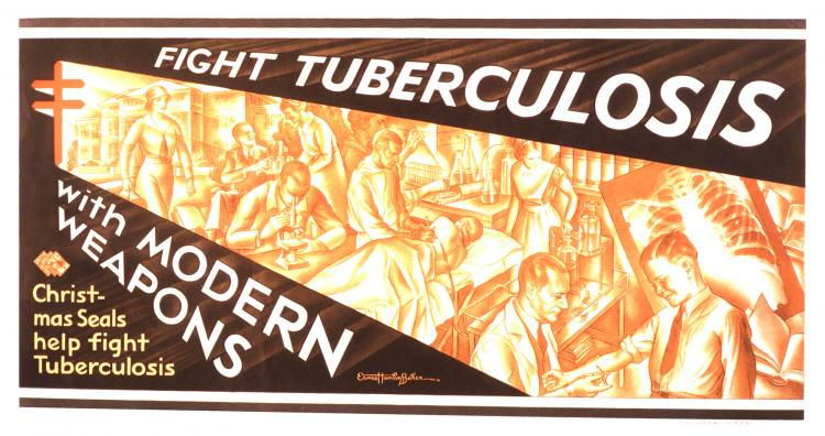 Fight Tuberculosis with Modern Weapons (American Lung Associaion, ca. 1935)
