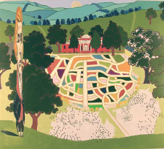 Monticello by Kerry James Marshall