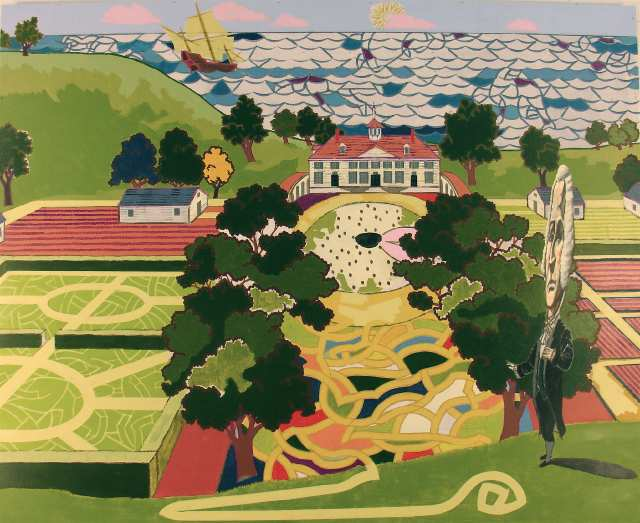 Mount Vernon by Kerry James Marshall