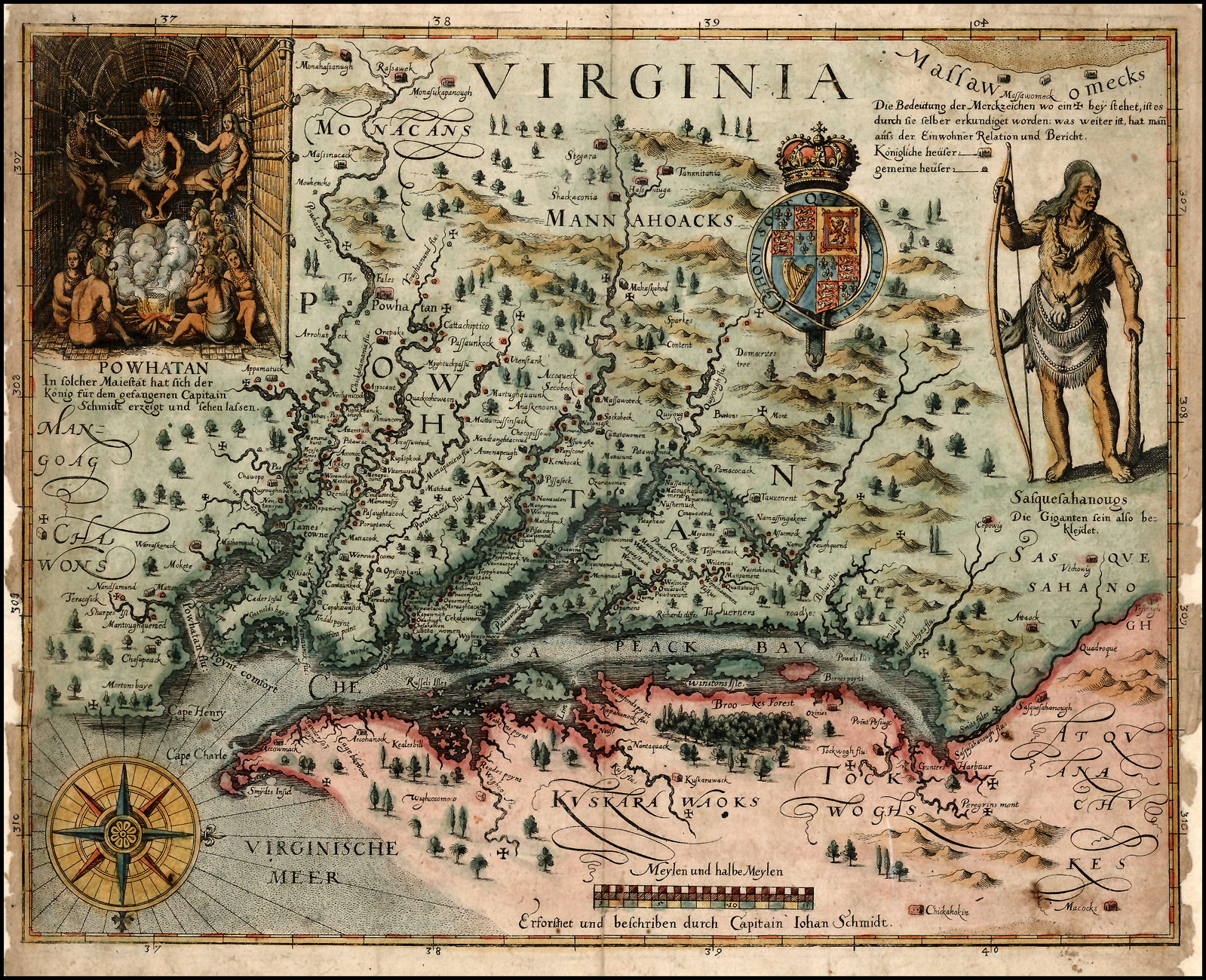 Map Of The Day Encyclopedia Virginia The Blog