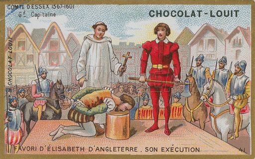 Execution of the Earl of Essex, 1601