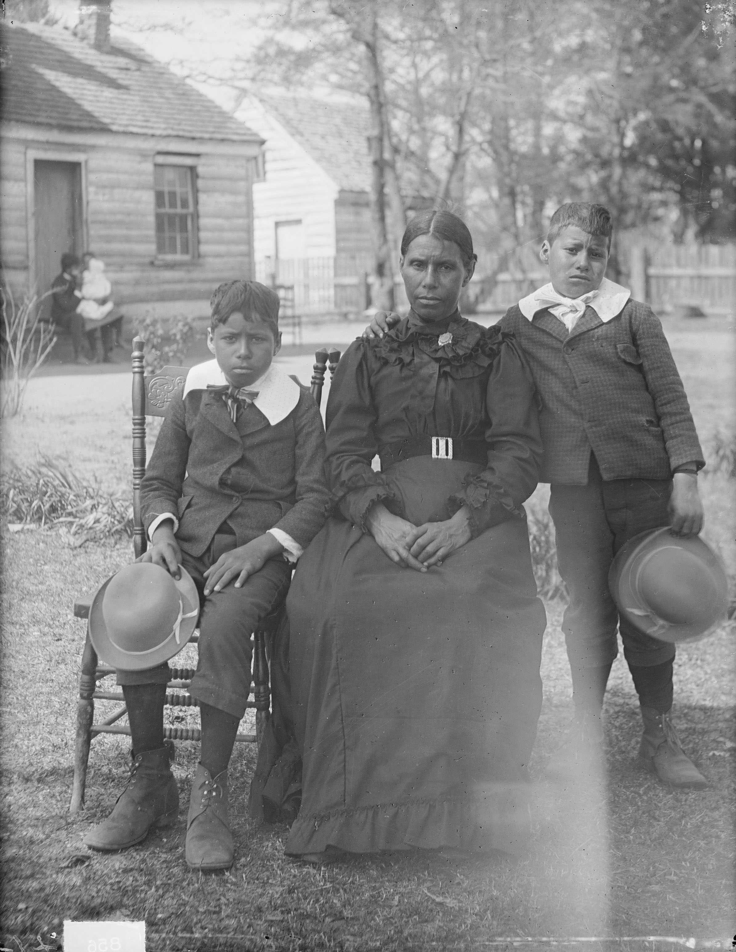 The Bradby Family By James Mooney Ca 1900 Virginia Indian Archive