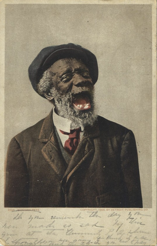 "Portrait of ""Buzzard Pete,"" 1905 (University of Virginia Library Special Collections)"