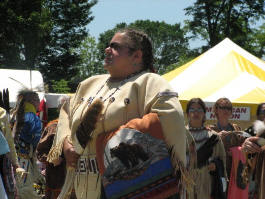 Chief Sharon Bryant by Bill Johns, May 21, 2006 (Virginia Indian Archive)