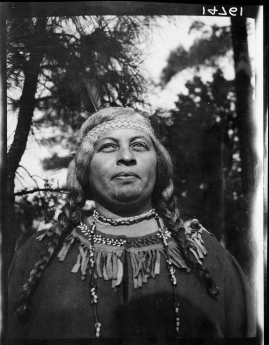 Susie P. Nelson by Frederick Johnson, 1927 (Virginia Indian Archive)
