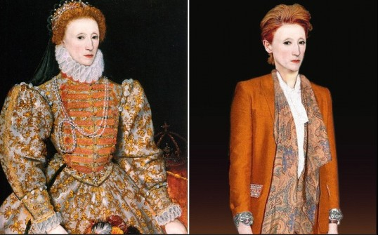 Queen Elizabeth Then and Now (The Telegraph)